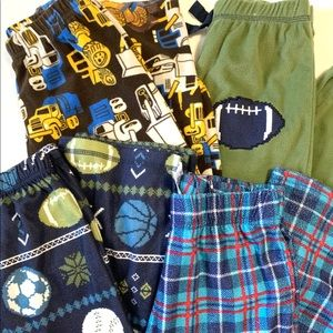 Other - 4 pair of boys flannel bottoms